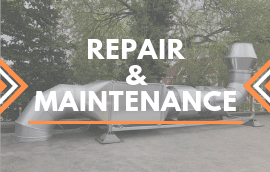 repair and maintenance of commercial ventilation and extraction systems