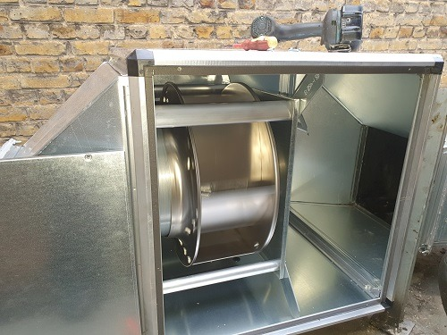 commercial extractor fan repairs