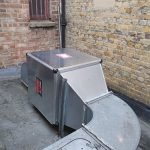 commercial kitchen canopy extractor fan